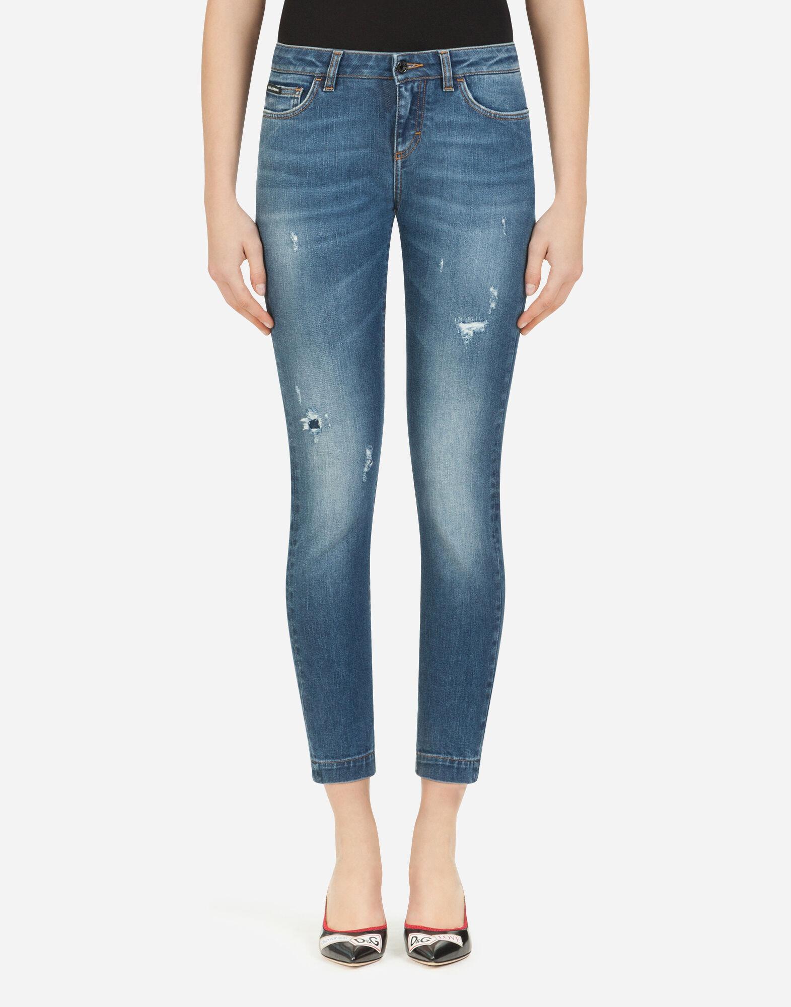 Damen Jeans: alle Denim Formen | Dolce&Gabbana JEANS PRETTY FIT AUS STRETCHDENIM
