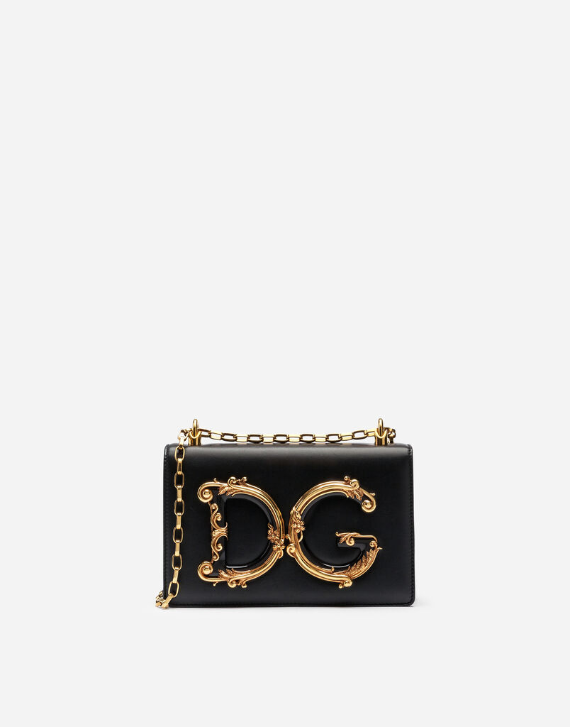 Dolce Gabbana Dg S Shoulder Bag In Na Leather