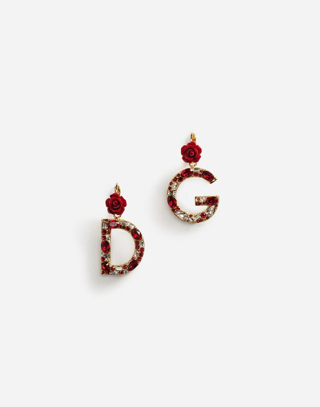 BRANDED DROP EARRINGS