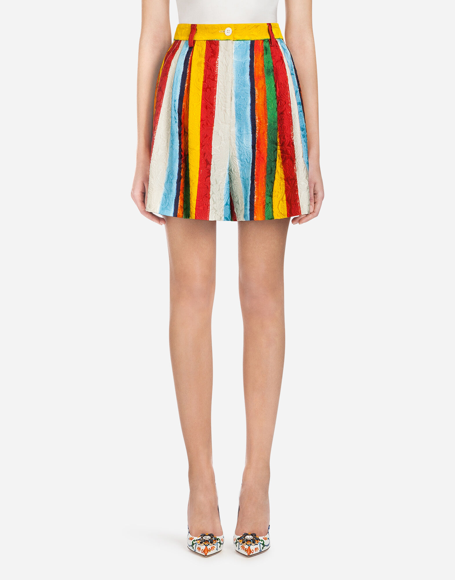 Vestir Mujer amp;gabbana Pantalones Prendas Dolce Brocado EnHwUxvq8