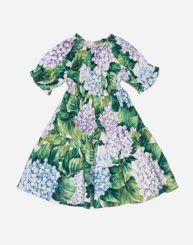 PRINTED COTTON DRESS