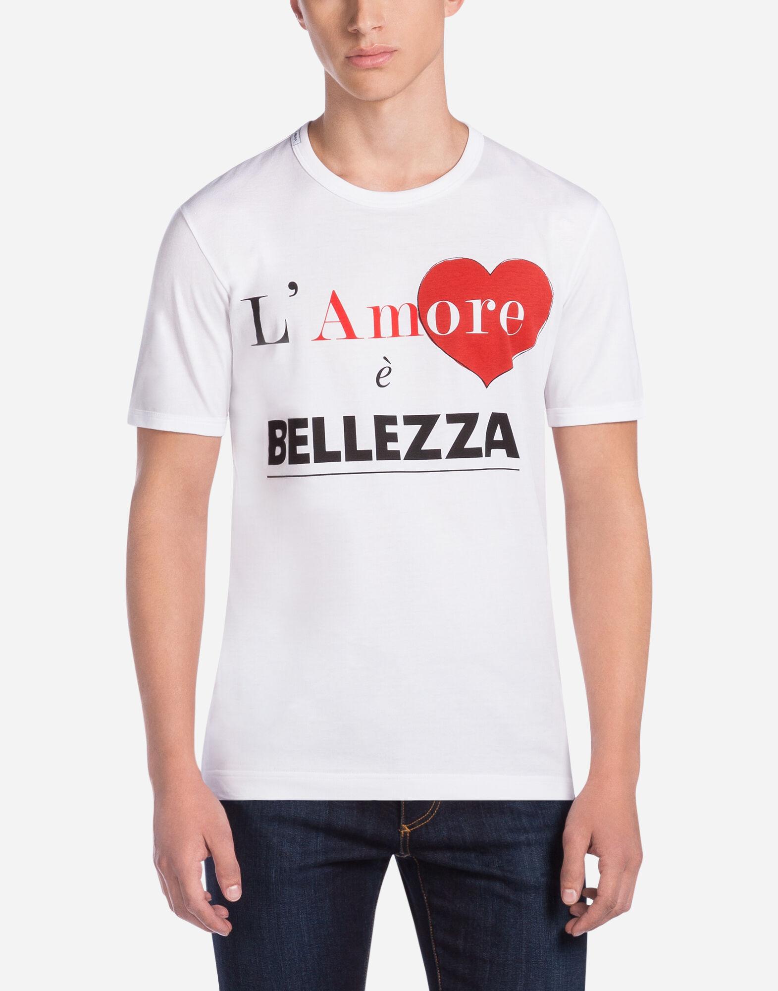Dolce & Gabbana T-SHIRT JERSEY DE COTON IMPRIMé