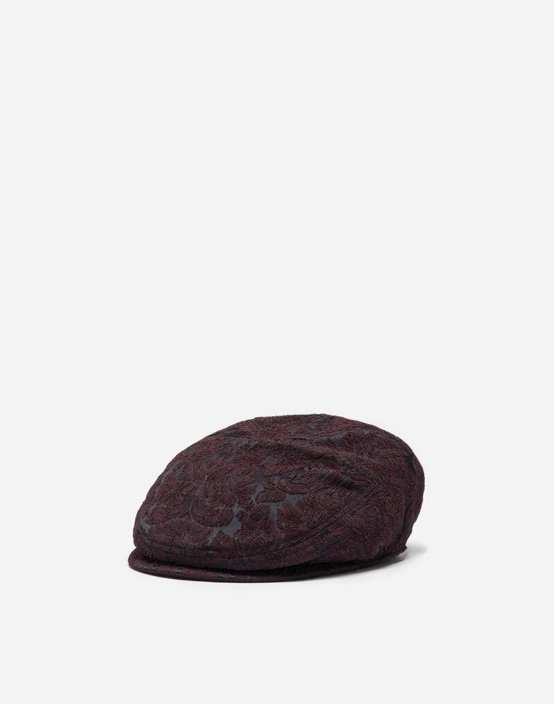 FLAT CAP IN JACQUARD