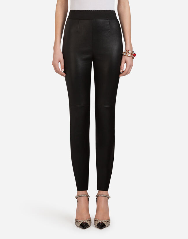 Dolce & Gabbana LEATHER PANTS