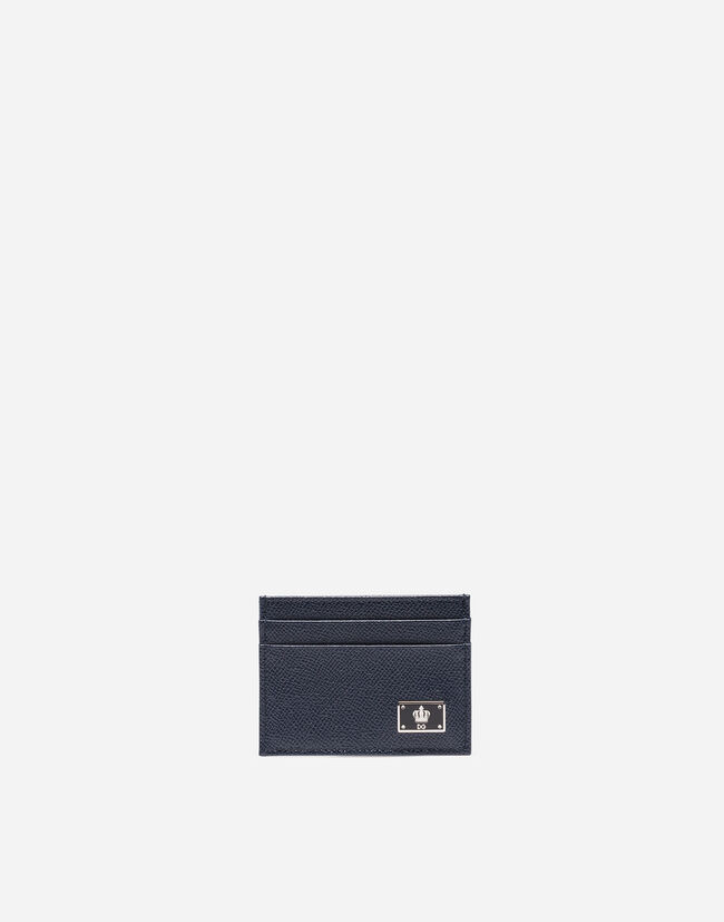 CARD HOLDER IN DAUPHINE LEATHER
