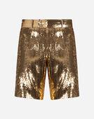 Dolce & Gabbana SEQUINED BERMUDA SHORTS