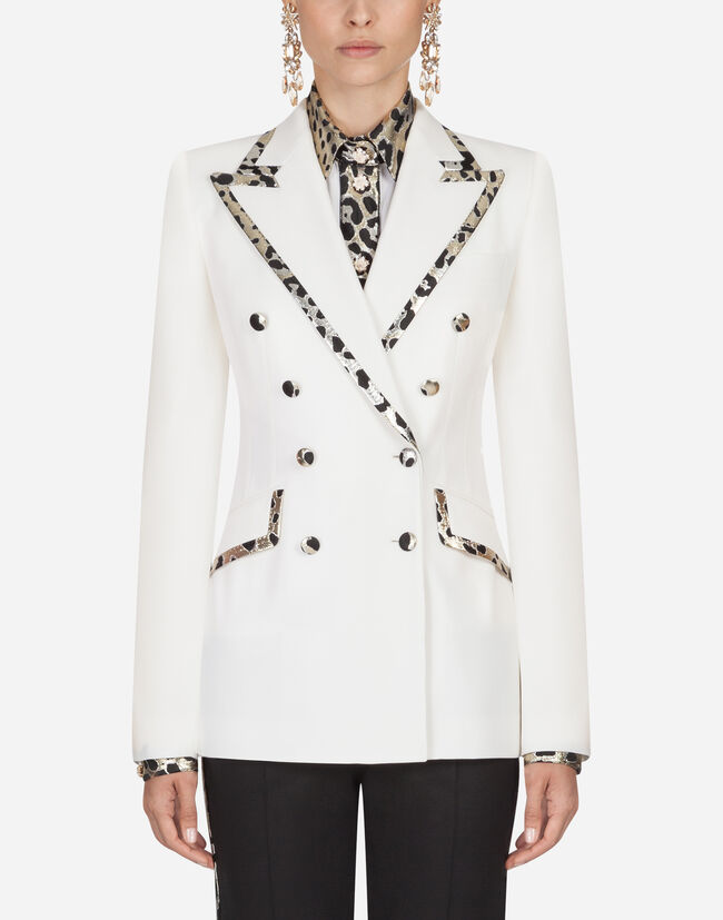 Dolce & Gabbana WOOL DOUBLE-BREASTED BLAZER