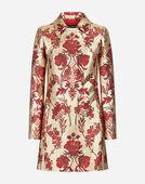 Dolce & Gabbana LUREX JACQUARD COAT