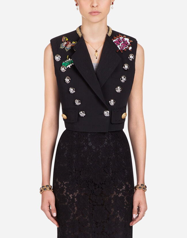 Dolce & Gabbana WOOL AND SILK VEST