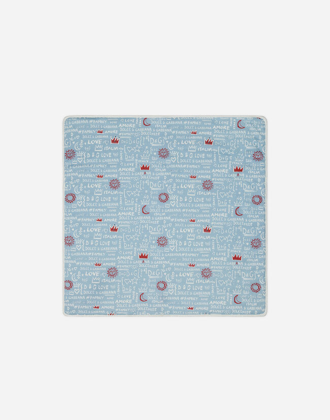 PRINTED COTTON BLANKET