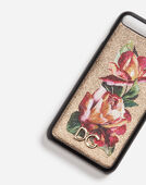 IPHONE 7 PLUS COVER WITH PRINTED LEATHER DETAIL