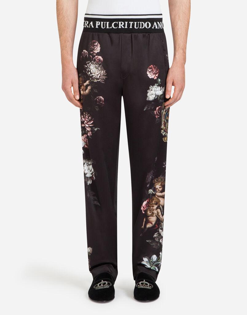 Dolce&Gabbana PRINTED JOGGING PANTS
