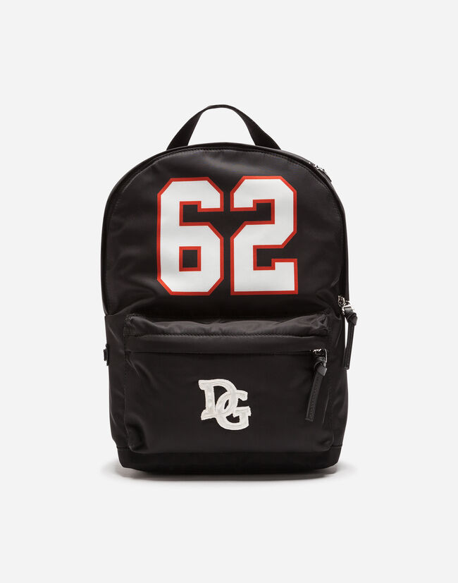 Dolce&Gabbana NYLON BACKPACK WITH PATCH