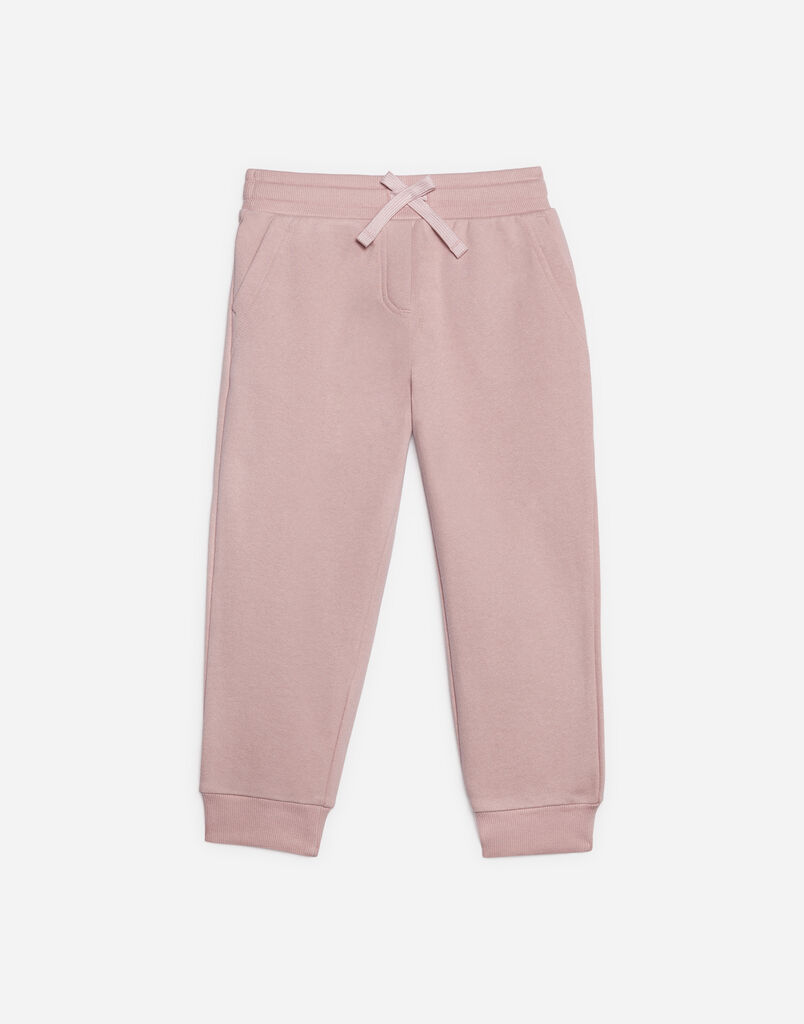 COTTON SWEATPANTS WITH PATCH