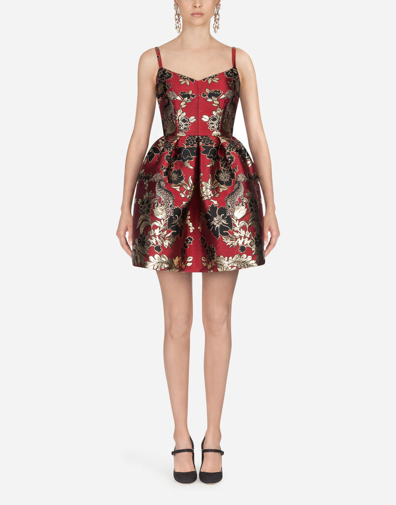 Dolce & Gabbana JACQUARD LUREX DRESS