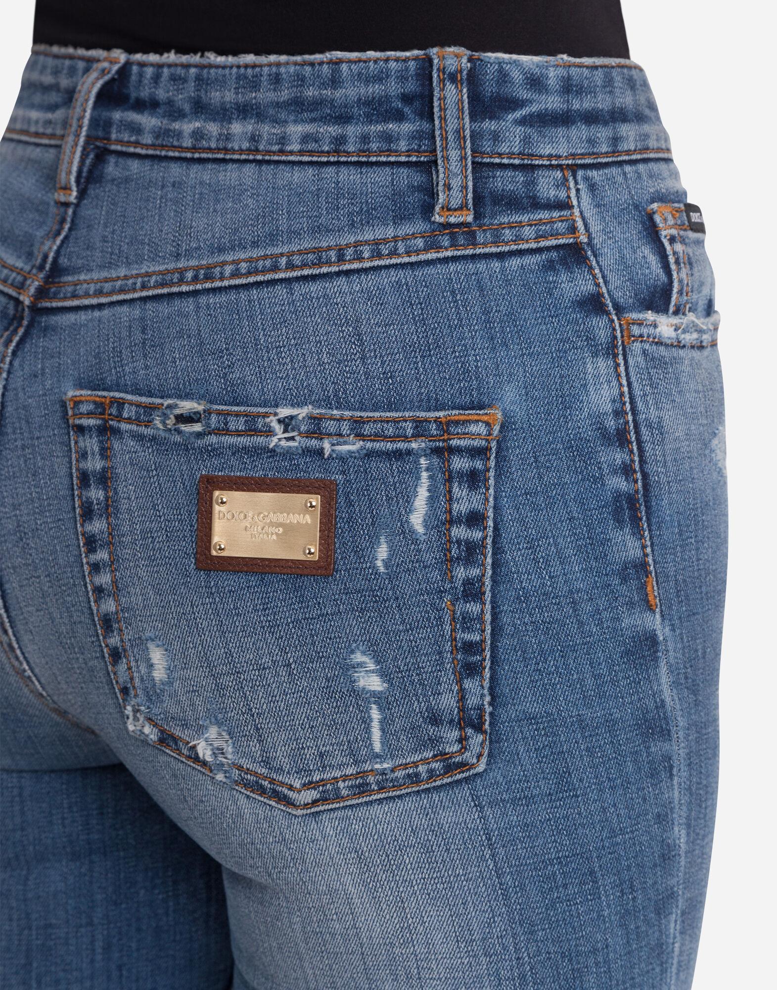 Damen Jeans: alle Denim Formen | Dolce&Gabbana JEANS AUDREY FIT AUS STRETCHDENIM