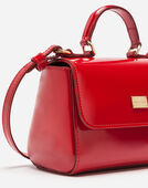 Dolce&Gabbana PATENT LEATHER HANDBAG