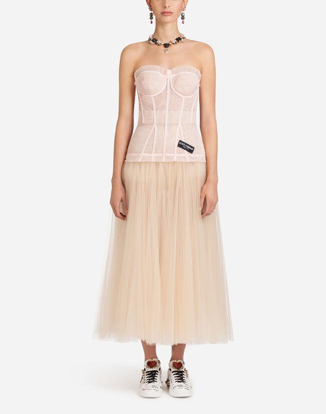 Dolce & Gabbana TULLE BUSTIER DRESS