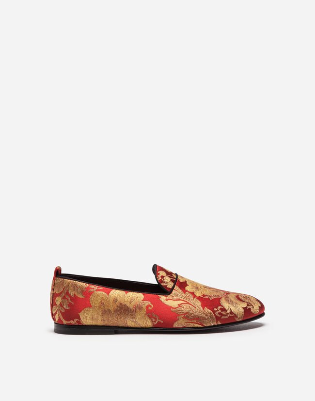 Dolce&Gabbana BROCADE SLIPPERS