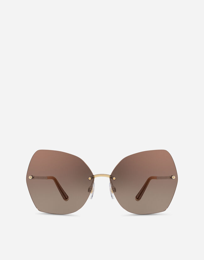 BUTTERFLY SUNGLASSES WITH METAL DETAILS