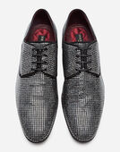 Dolce & Gabbana DERBY IN SUEDE WITH ALL-OVER RHINESTONES