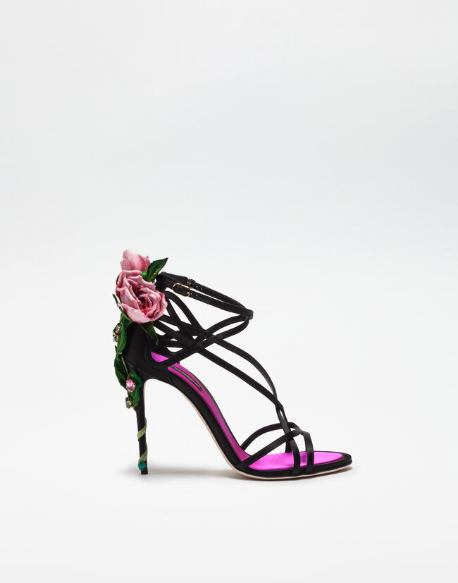 Dolce & Gabbana JEWEL SANDALS WITH EMBELLISHMENTS