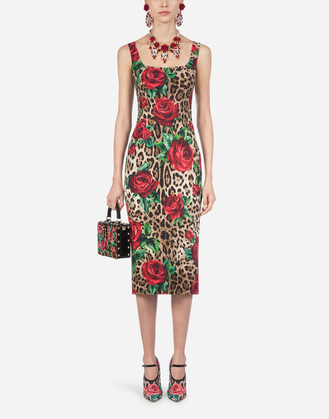 Dolce & Gabbana PRINTED VISCOSE DRESS
