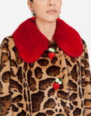 Dolce & Gabbana FAUX FUR COAT