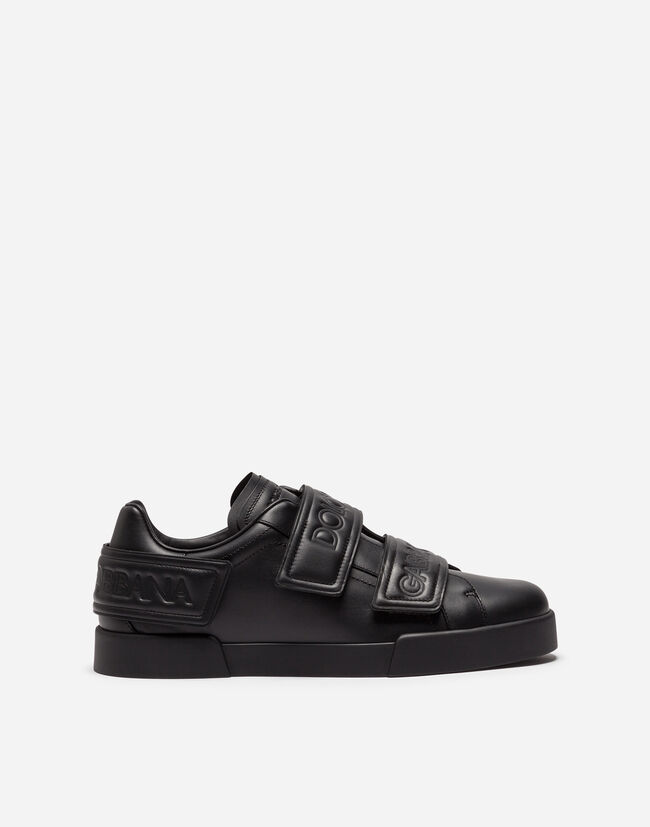 PORTOFINO SNEAKERS IN CALFSKIN WITH DOUBLE VELCRO