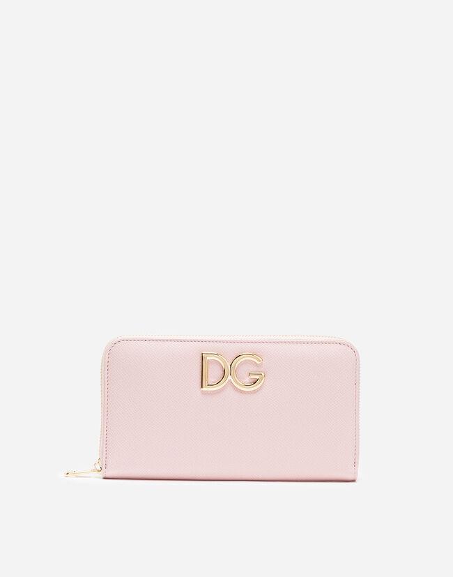 Dolce&Gabbana ZIP-AROUND LEATHER WALLET