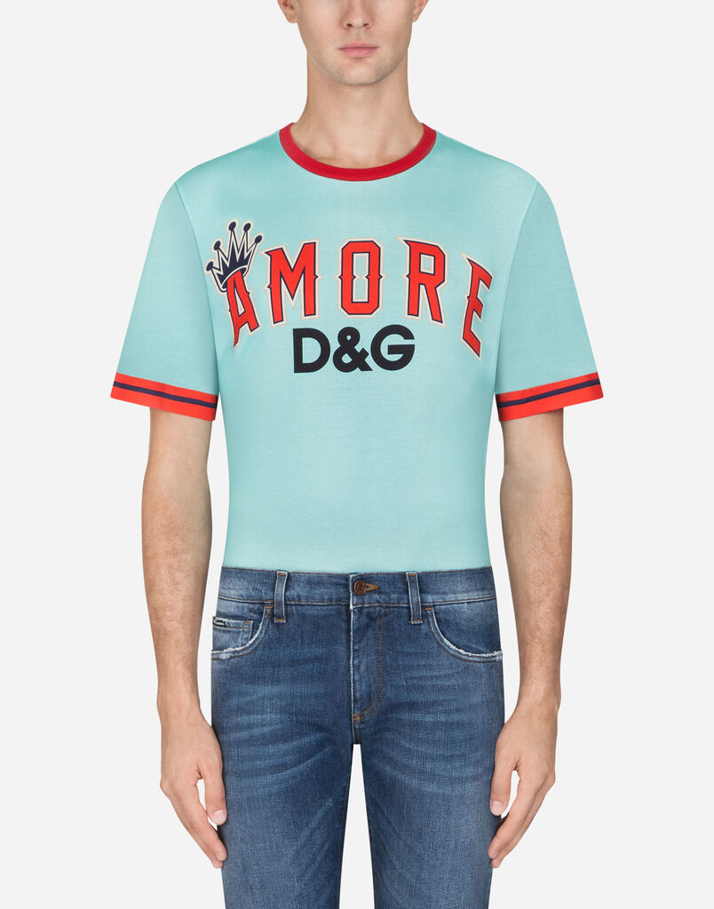 T Shirts And Polo For Men Dolcegabbana