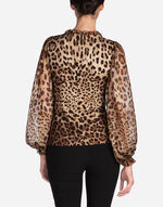PRINTED CADY BLOUSE