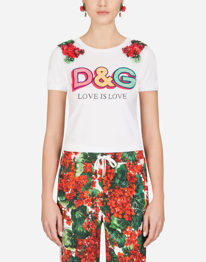 Womens T Shirts And Sweatshirts Dolcegabbana