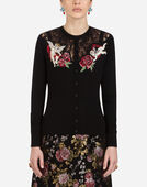 Dolce & Gabbana WOOL AND SILK CARDIGAN