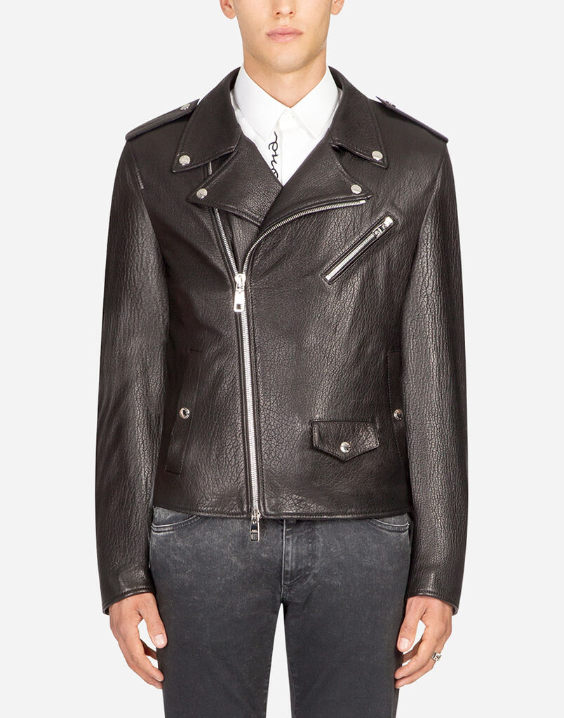 Vestes et Blousons en cuir Homme   Dolce Gabbana 6032a06f0292