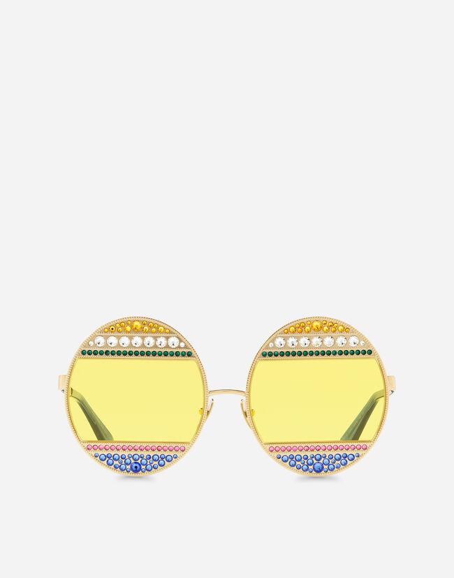 87613028ef4086 Lunettes de Soleil Femme   Dolce Gabbana - LUNETTES DE SOLEIL OVALES ...