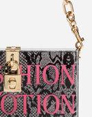 Dolce & Gabbana DOLCE BOX CLUTCH IN PLEXI WITH CHAIN