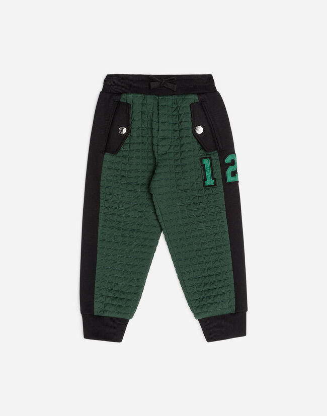 QUILTED COTTON PANTS