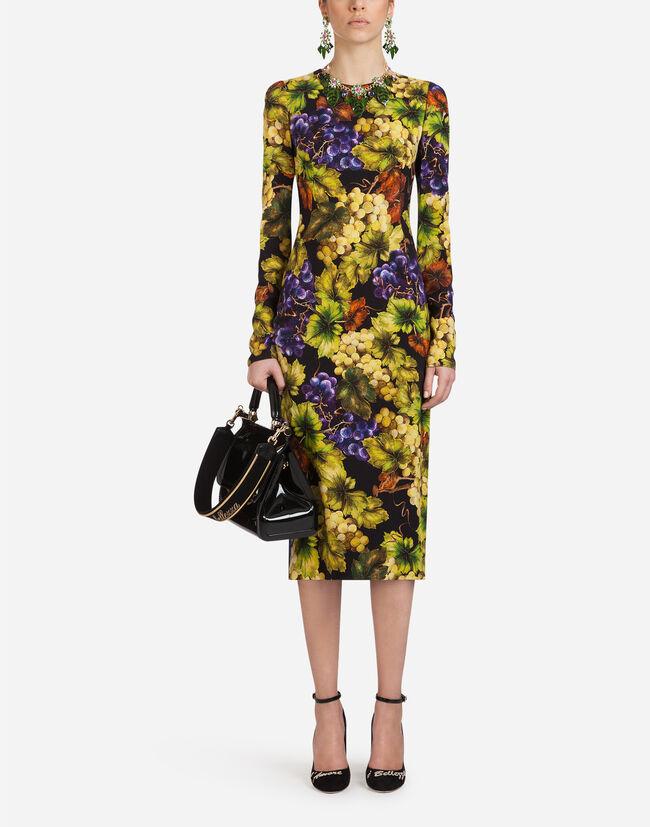 Dolce & Gabbana PRINTED CADY DRESS