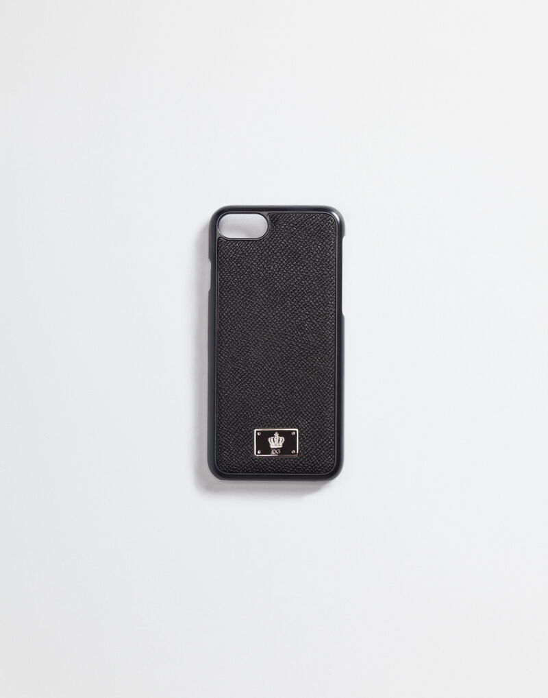 IPHONE 7 COVER WITH DAUPHINE LEATHER DETAILS