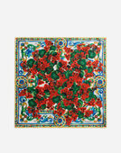 Dolce & Gabbana PRINTED SILK FOULARD 50 X 50 CM – 20 X 20INCHES