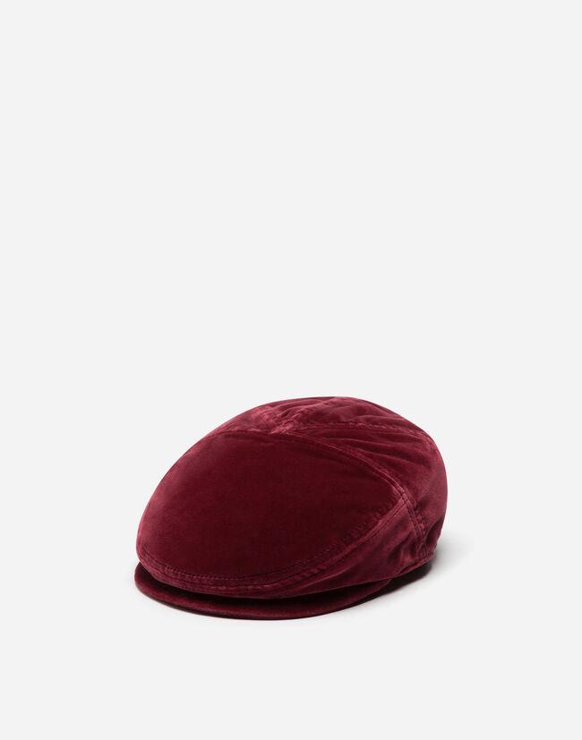 FLAT CAP IN VELVET