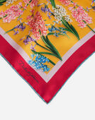 PRINTED SILK FOULARD 70 x 70 cm – 27.6 x 27.6 inches