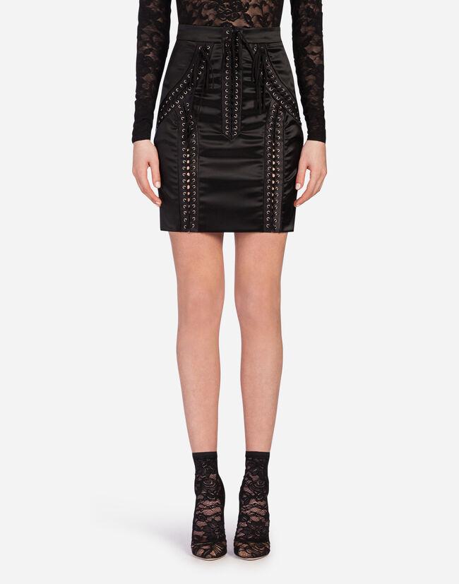 Dolce&Gabbana SATIN SKIRT