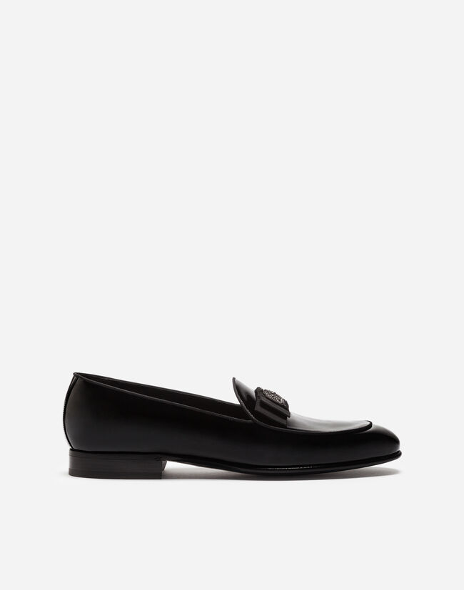 Dolce&Gabbana PATENT LEATHER SLIPPERS