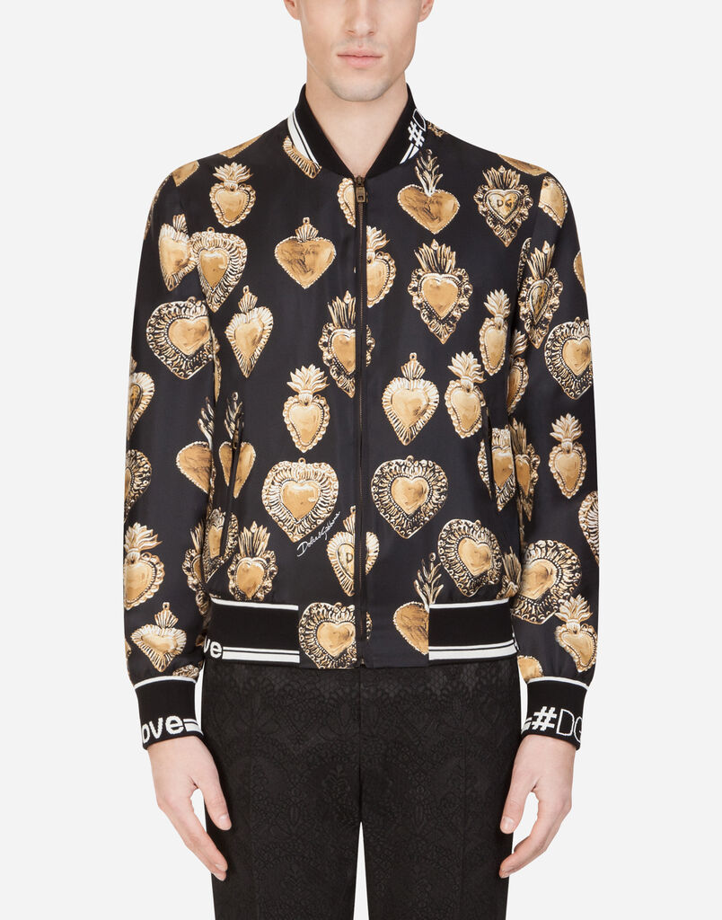 62820536 Men's Jackets and Bombers | Dolce&Gabbana