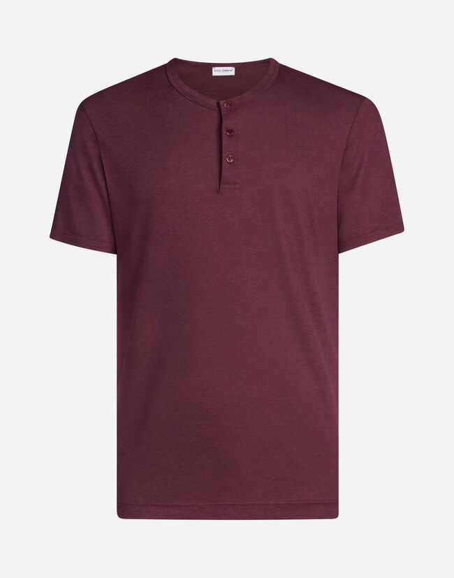 SERAFINO T-SHIRT IN MODAL COTTON