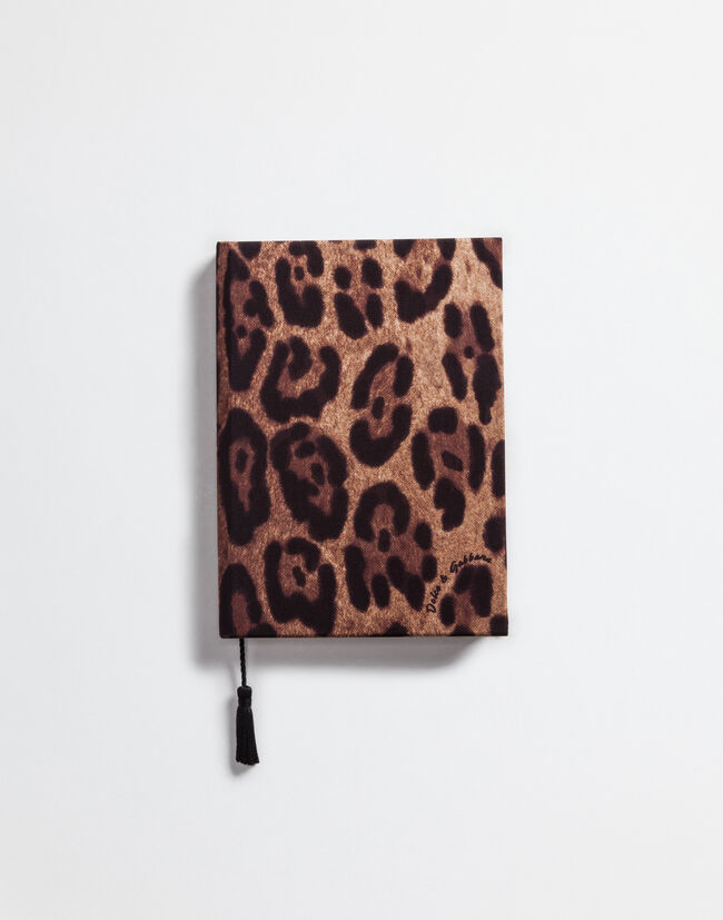 Dolce&Gabbana PRINTED TWILL COVERED NOTEBOOK
