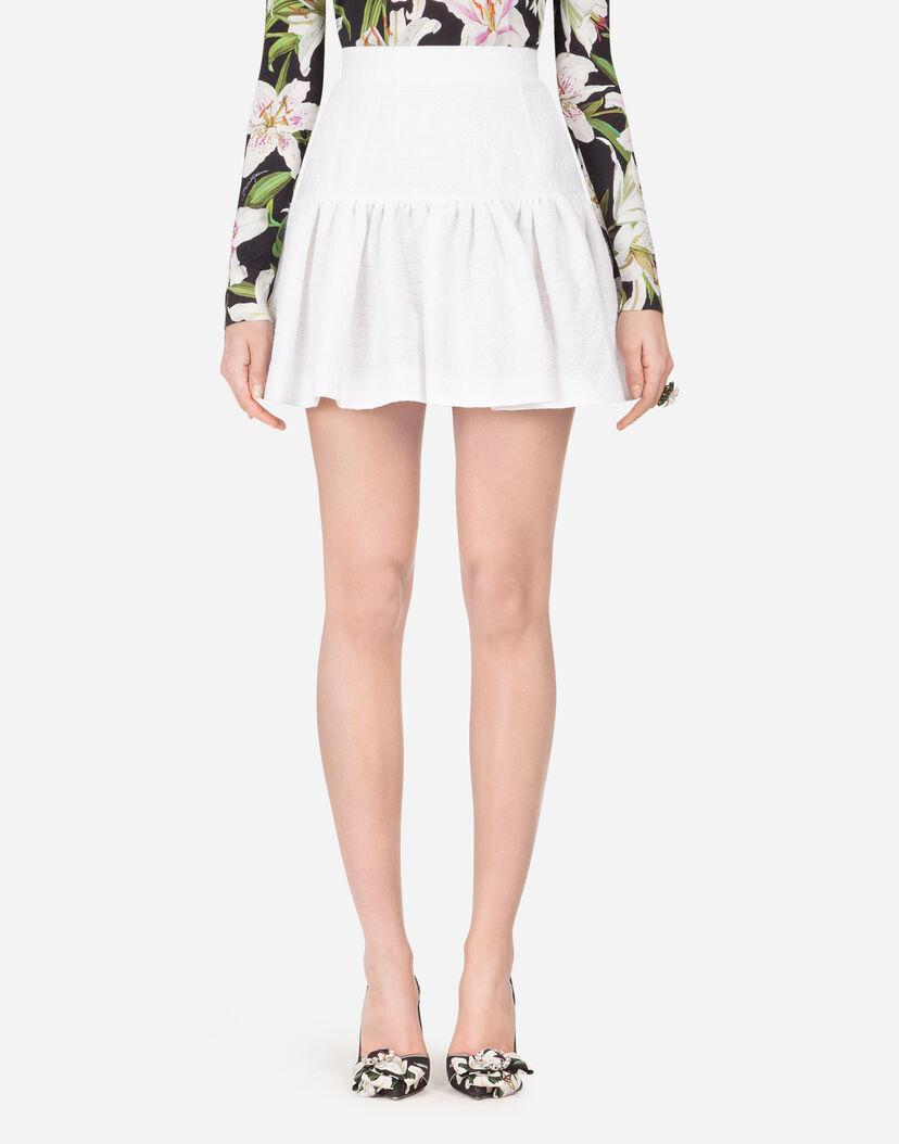 rivenditore online a4beb 705aa Gonna Corta A Ruota - Abbigliamento Donna | Dolce&Gabbana