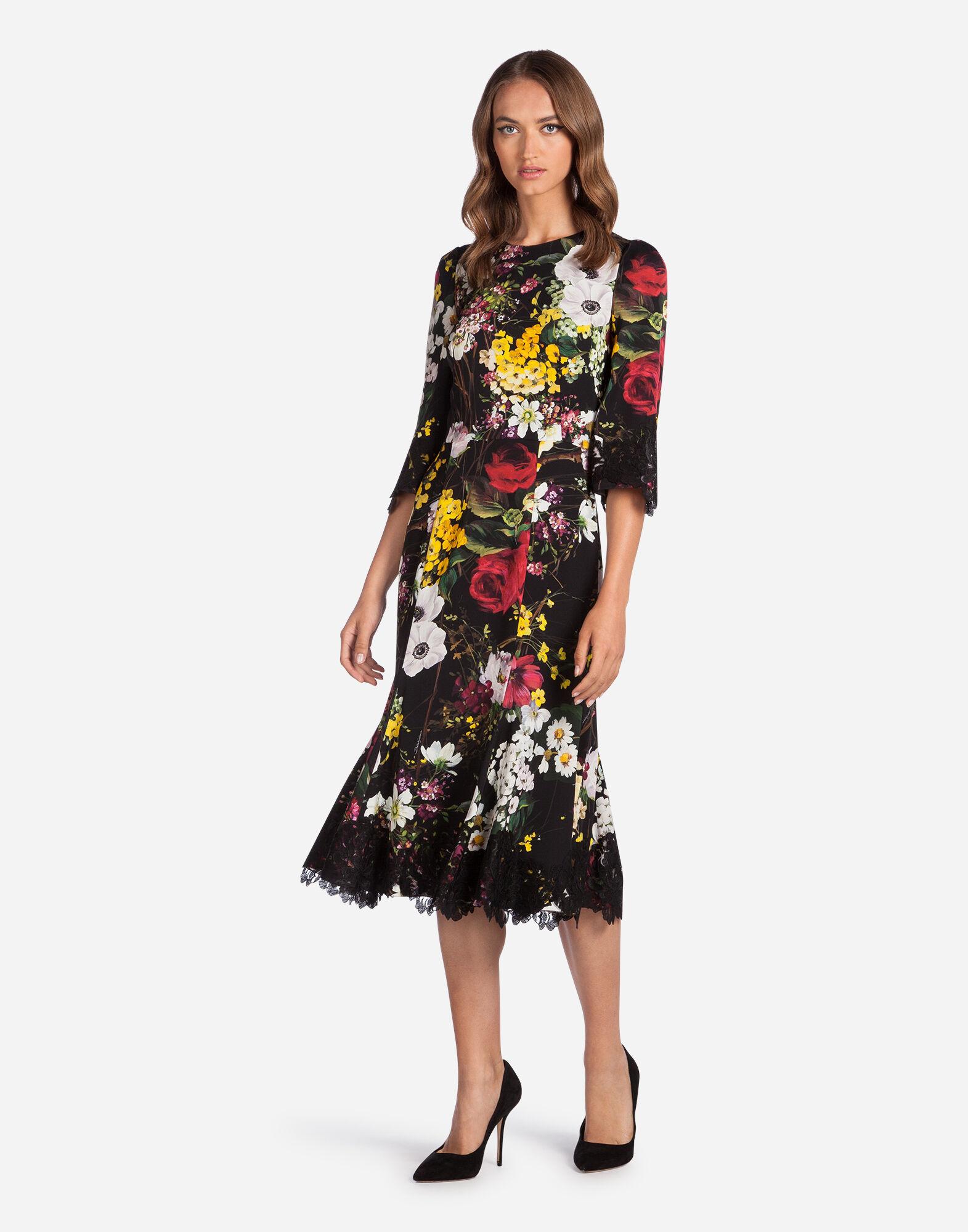 Women's dresses: clothing for women Dolce&Gabbana - PRINTED SILK DRESS